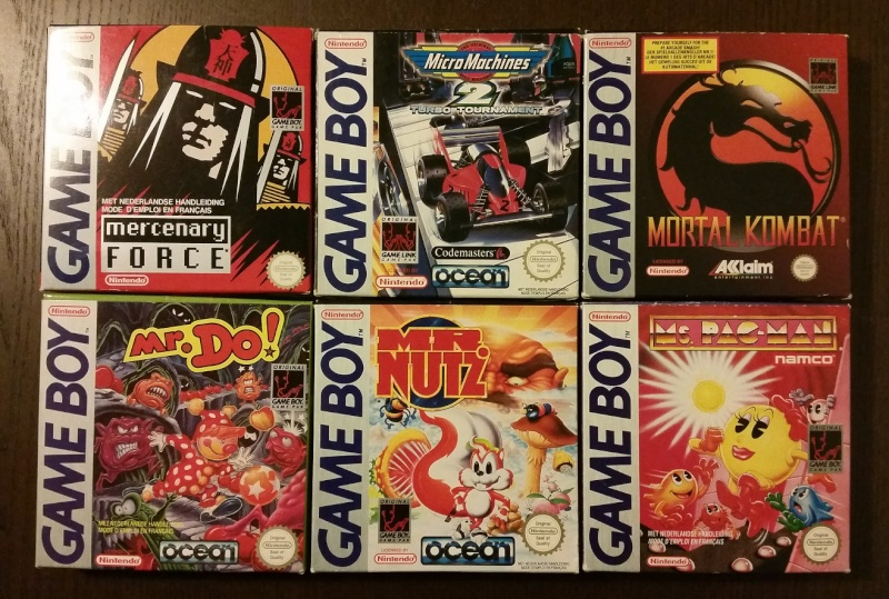 Mon full set gameboy FAH (boite + loose) 1110