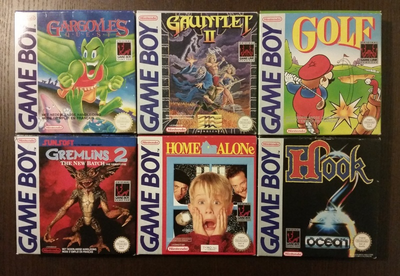 Mon full set gameboy FAH (boite + loose) 710