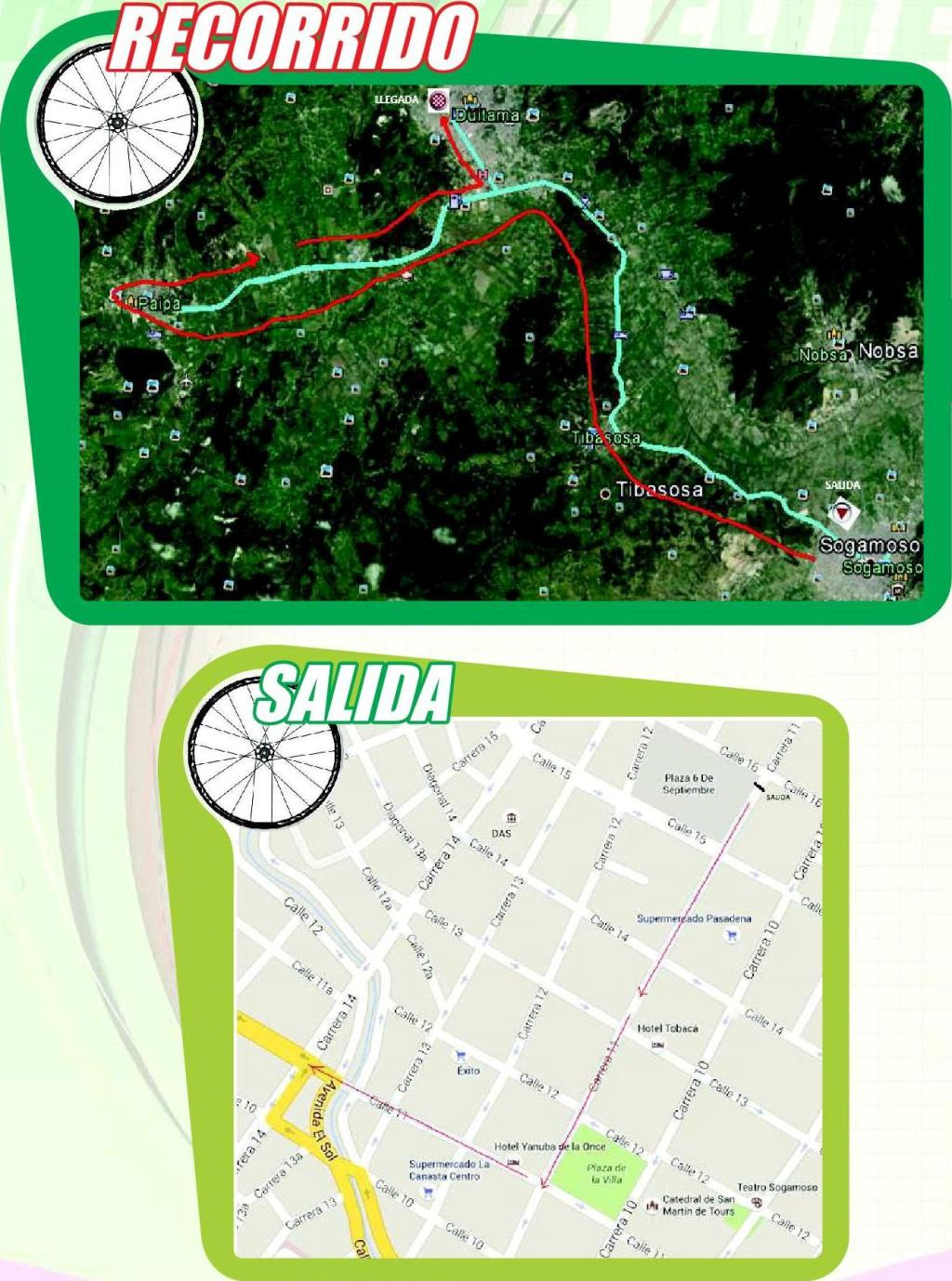 planimetria 2016 » National Championships Colombia - TTT (NC) - Time Trial » Sogamoso › Duitama (43 km)
