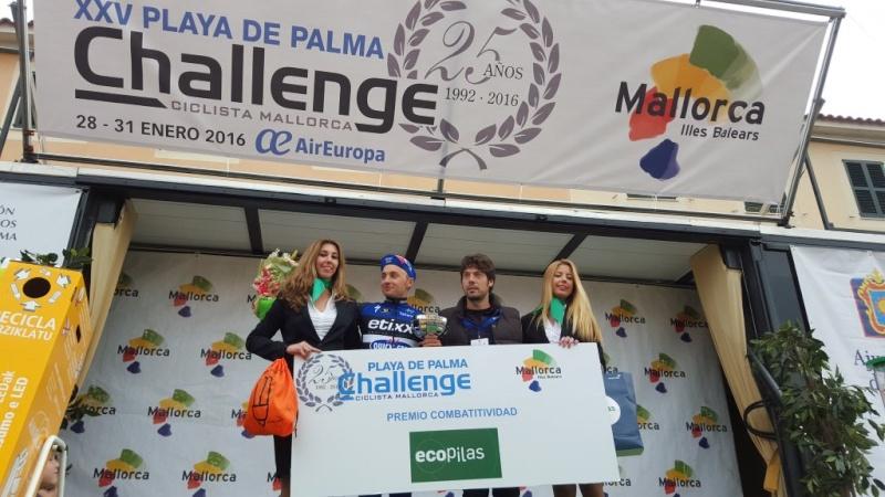 Challenge di Maiorca - podio Gianluca Brambilla