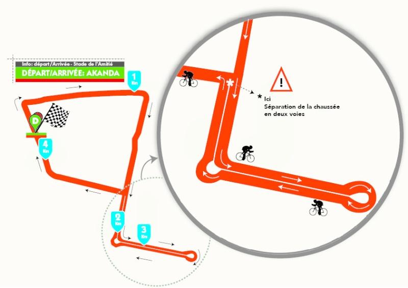 altimetria 6a tappa (Cronometro Individuale) » Akanda › Stade de L'Amitie (4 km) de La Tropicale Amissa Bongo