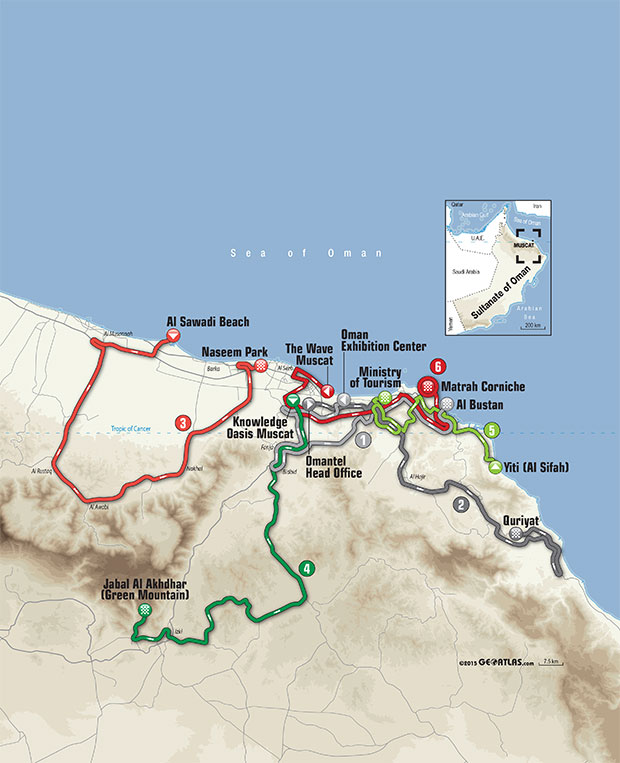 planimetria generale 7th Tour of Oman (2.HC)
