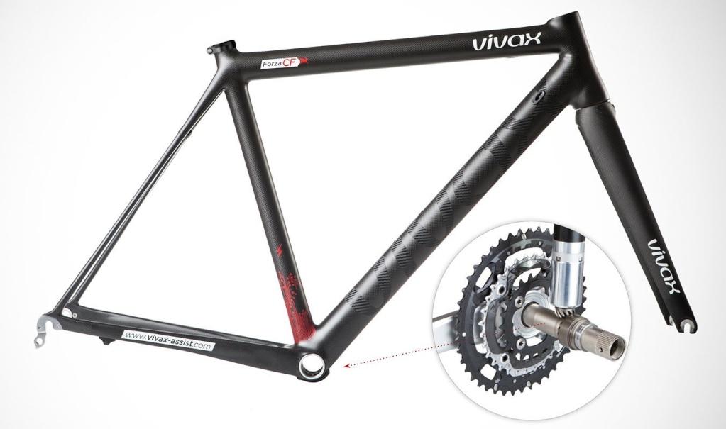 motorino nella bici Vivax