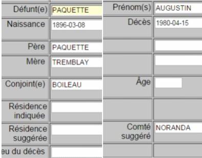 Joseph Paquet et Albertine Boileau  Dapaq10