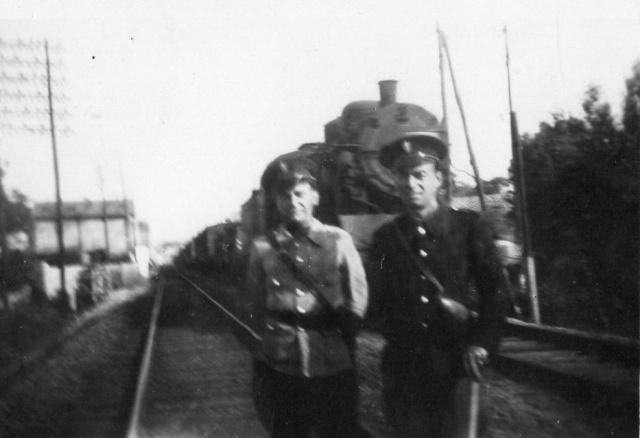 Police des chemins de fer - 1943 Cdf411