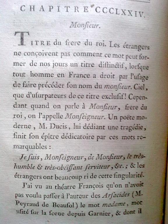 Le Tableau de Paris par Mercier (1782) Monsie10