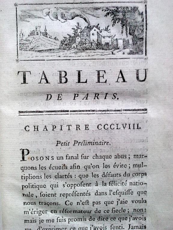 Le Tableau de Paris par Mercier (1782) Preili10
