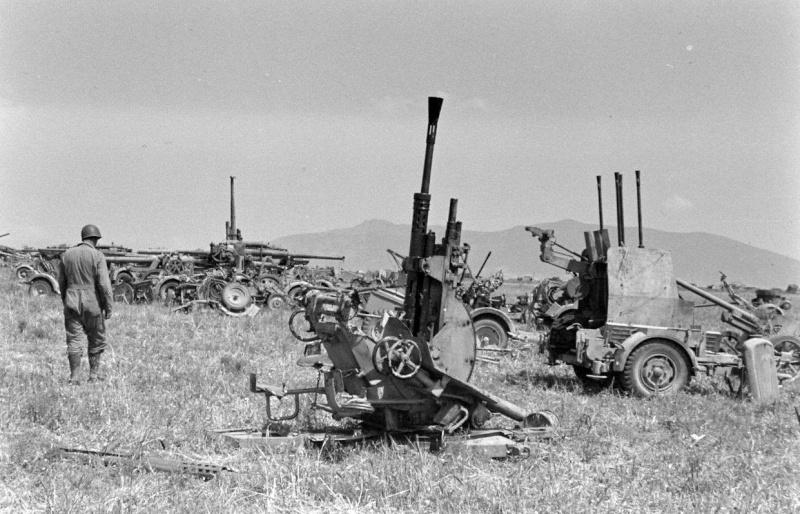 photo materiel allemand tunisie 1943 12485810