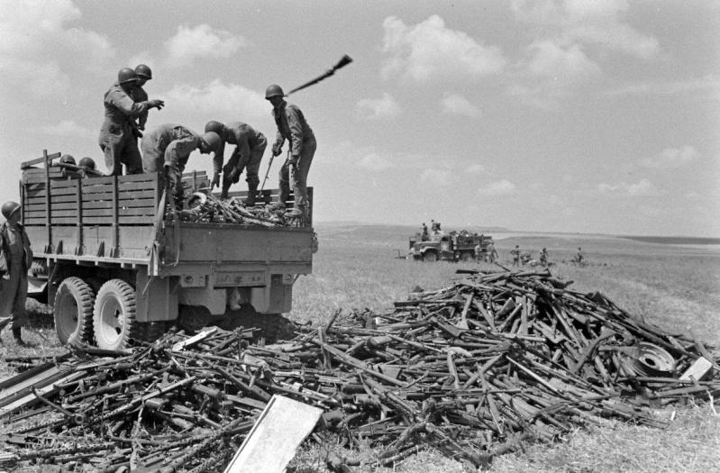 photo materiel allemand tunisie 1943 12489210