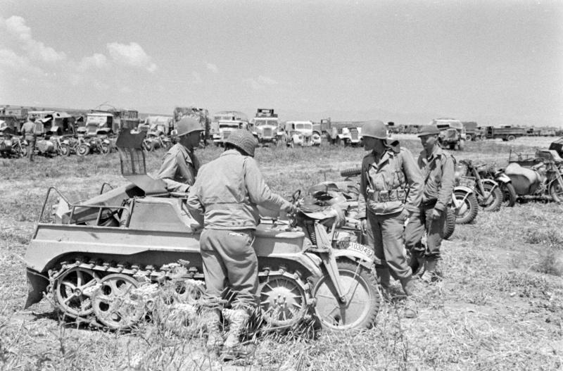photo materiel allemand tunisie 1943 12491710