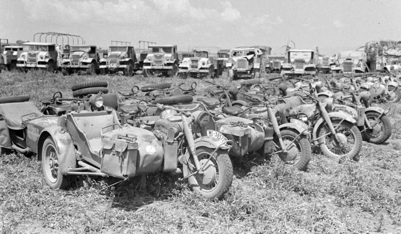 photo materiel allemand tunisie 1943 12491810