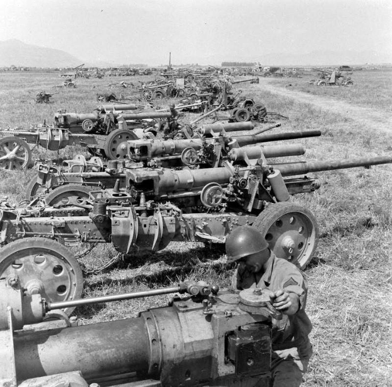 photo materiel allemand tunisie 1943 12509710