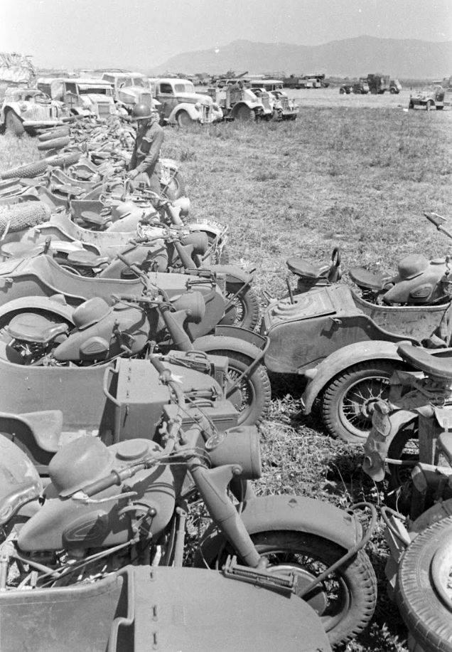 photo materiel allemand tunisie 1943 15107810