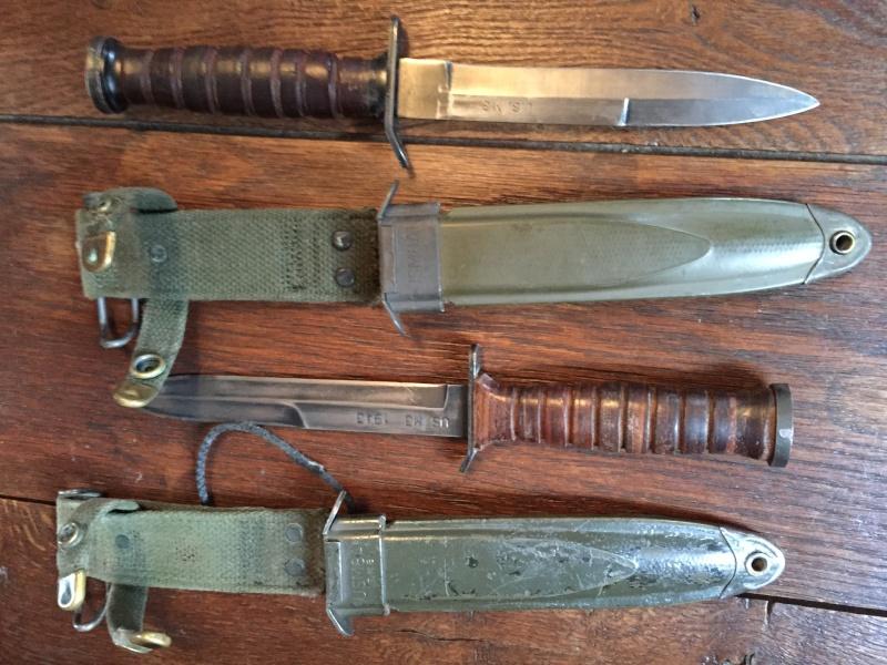 Les Couteaux USM3 + Les Fourreaux ....Les Fabricants.... Img_4010
