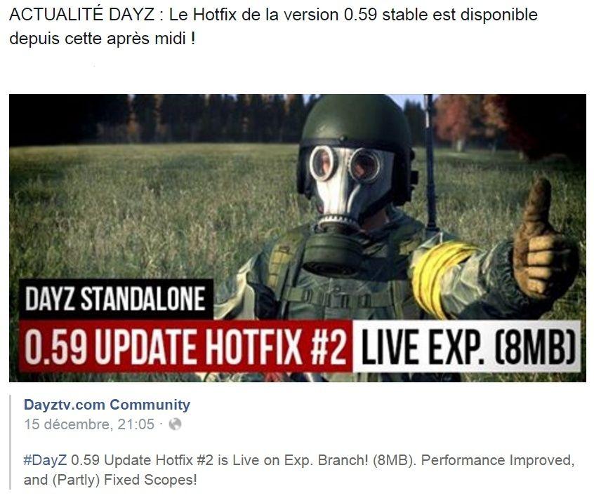 Le Hotfix de la version 0.59 stable est disponible ! Hghgf10