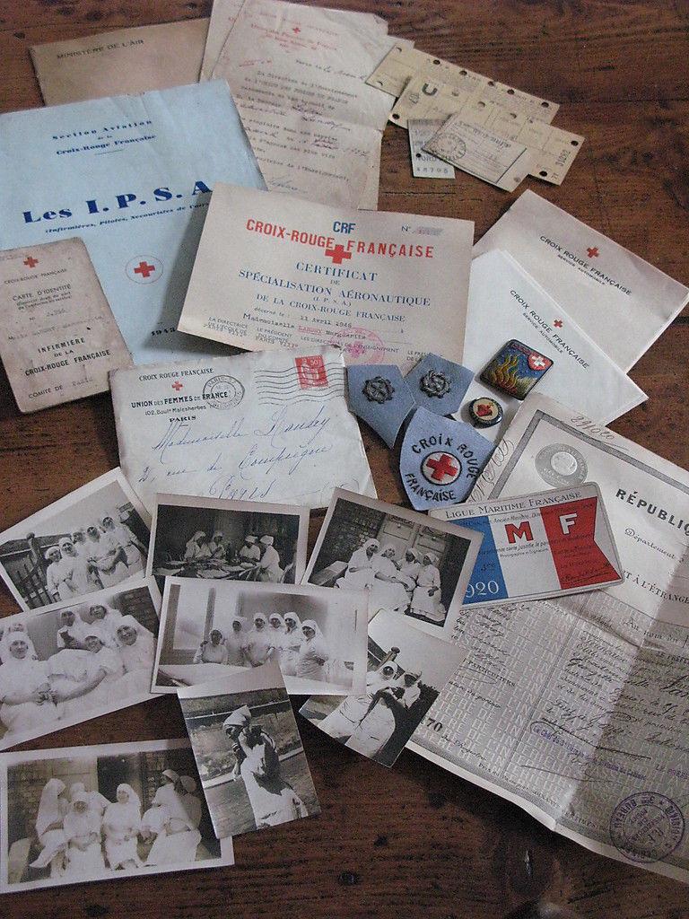 lot d'une Infirmière française de 1920 à 1946 _57_210