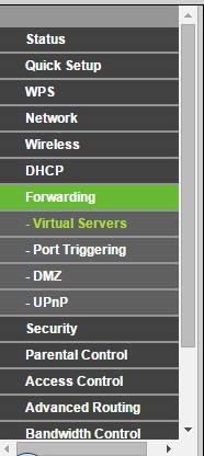 Abrir puertos del Router TP-LINK Router13