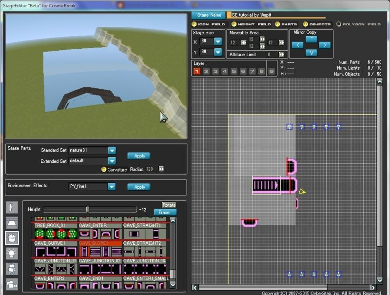 Stage Editor tutorial 810