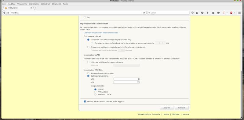 Problema configurazione  Scherm12