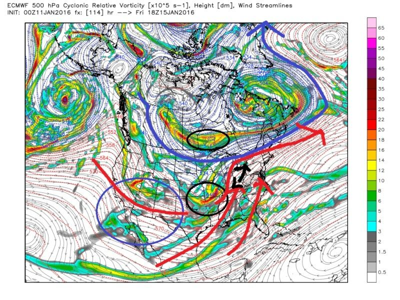 Jan 16th--The tease--Observations and Discussions - Page 3 Ecmwf_28