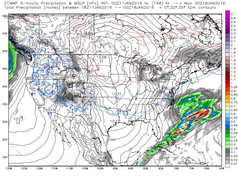 Jan 16th--The tease--Observations and Discussions - Page 3 Ecmwf_32