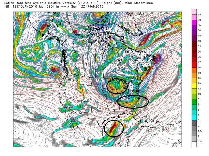 State of the Union: Winter Edition & MLK Day Possible Storm Ecmwf_34