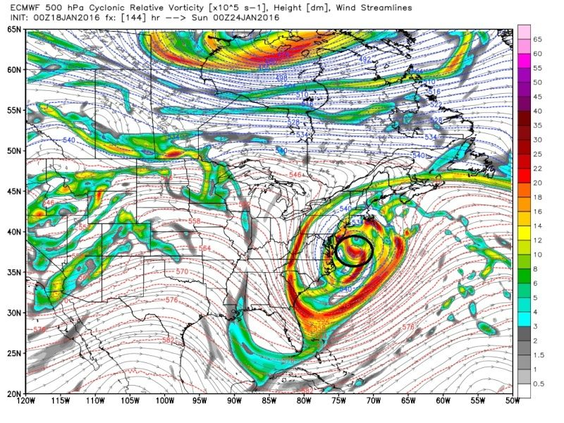 01/22/16-01/23/16 Update #1 - Historic Storm Possible - Page 6 Ecmwf_47