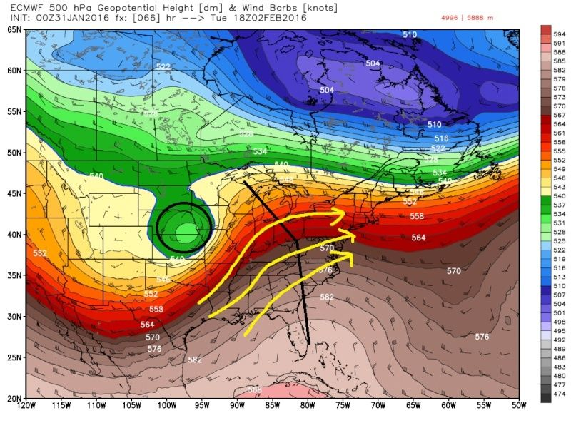 A Word On the Upcoming Storm Train   Ecmwf_61