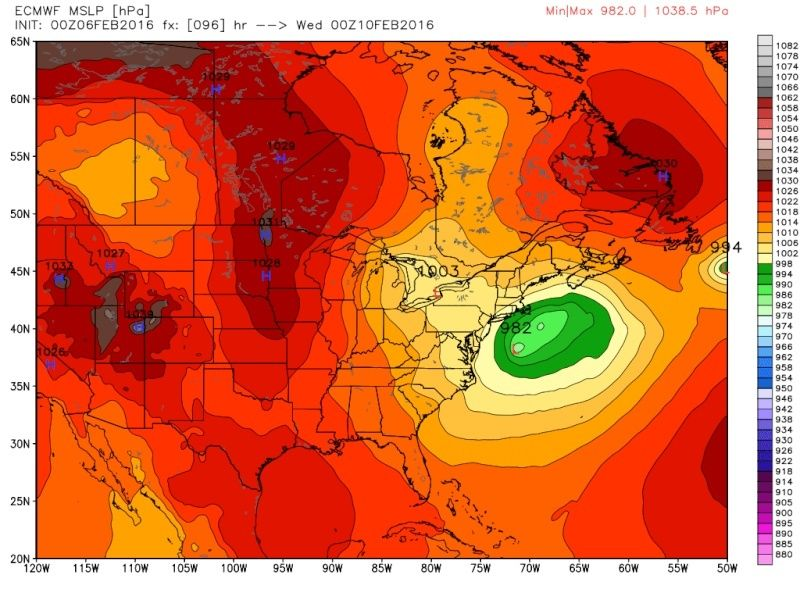 February 9th Possible Inverted Trough - Page 6 Ecmwf_86