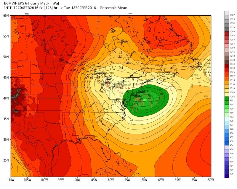 February 9th Possible Inverted Trough - Page 2 Eps_sl22