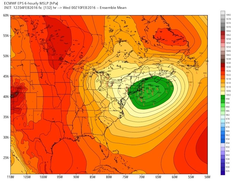 February 9th Possible Inverted Trough - Page 2 Eps_sl23