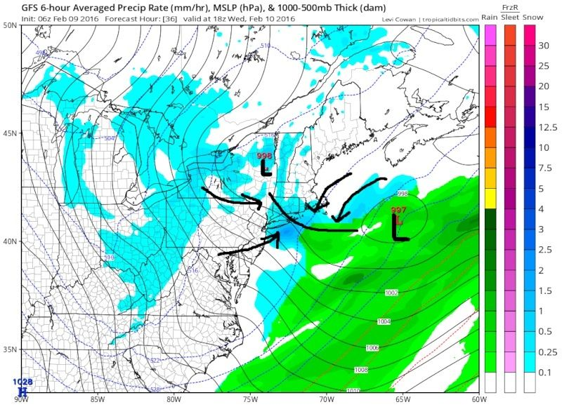 Feb 9th-10th IVT Update 2.0  Gfs_ms13