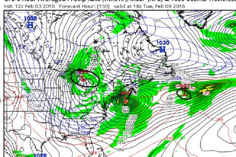 Feb 9th-10th IVT Update 2.0  Gfs_ms16