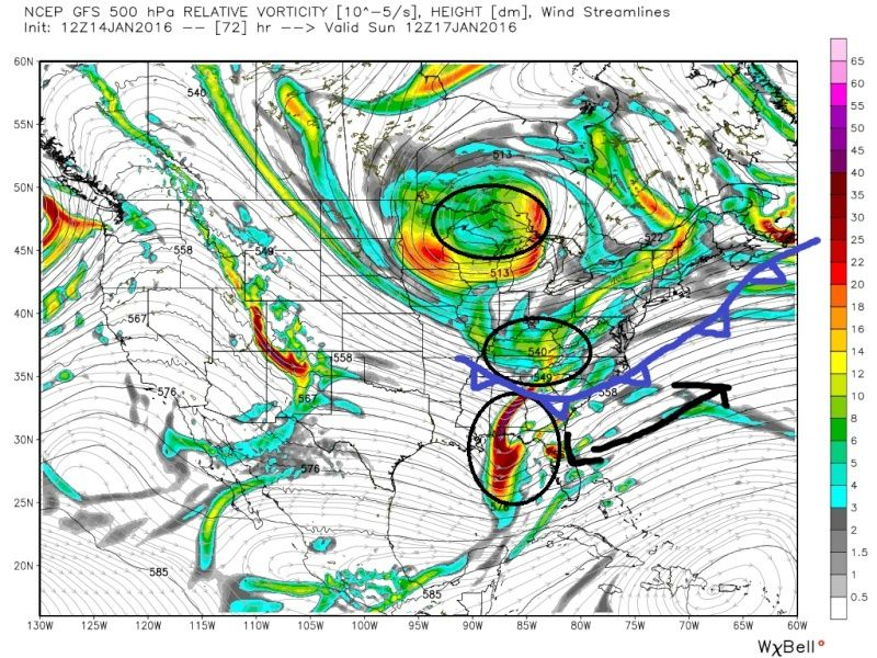 State of the Union: Winter Edition & MLK Day Possible Storm - Page 2 Gfs_z516