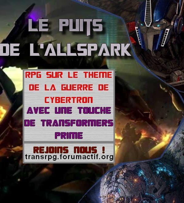 Le Puits De L'Allspark | RPG Bannie10