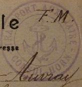 * CONSUL HORN (1918/1919) * 190110
