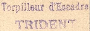 * TRIDENT (1909/1931) * 281_0010