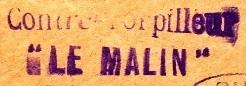 * LE MALIN (1936/1965) * 381010