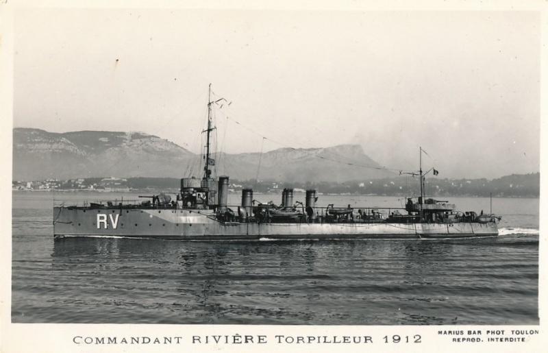 * COMMANDANT RIVIERE (1912/1933) * 413_0010