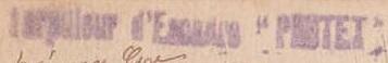 * PROTET (1914/1933) * 469_0010