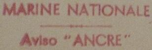 * ANCRE (1947/1960) * 481210