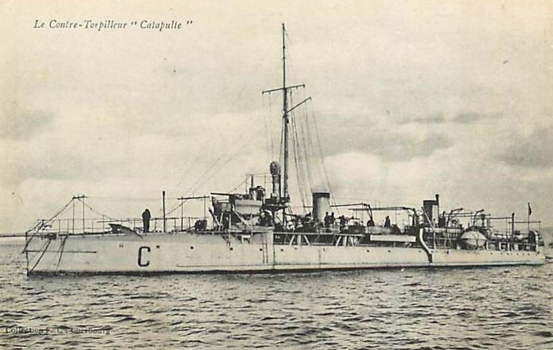 * CATAPULTE (1903/1918) * 498_0010