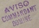 * COMMANDANT DOMINE (1940/1960) * 520310