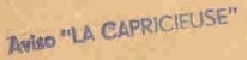 * LA CAPRICIEUSE (1940/1964) * 6102_c12