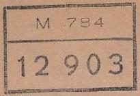 * GÉRANIUM (1955/1987) * 6708_c10