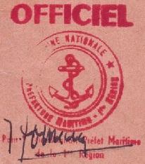 + AUMÔNERIE CHRETIENNE CATHOLIQUE DE LA MARINE + 690610