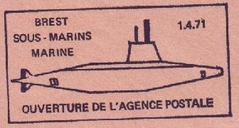 BREST - SOUS-MARINS - MARINE 7104_c10