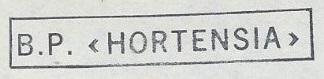 * HORTENSIA (1955/1983) * 721110