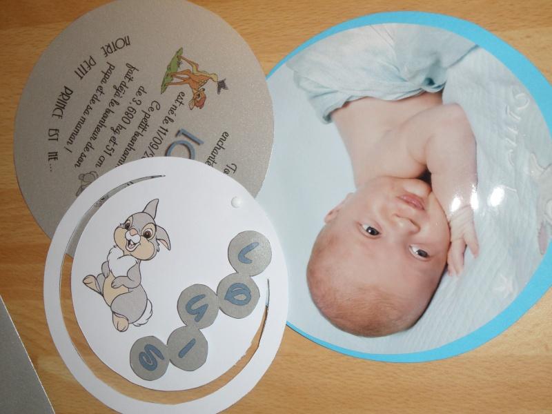 Arrivée de bébé dans le monde de Disney (déco chambre, faire part, idées baptême, vêtements ...) - Page 3 Sam_0824