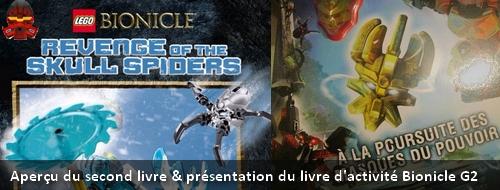[Culture] Présentation du livre d'activité Bionicle & premier aperçu du second livre Bionicle Lololo10